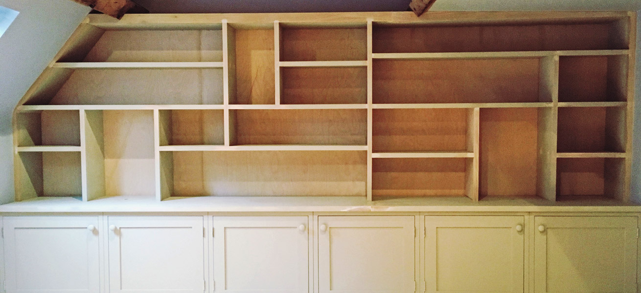 Oakford Fine Carpentry - Bookcase - Banner
